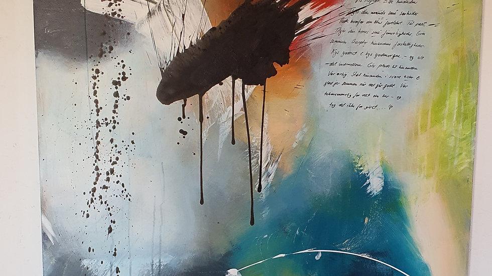 Kunst Maleri/ Art Painting By Axel