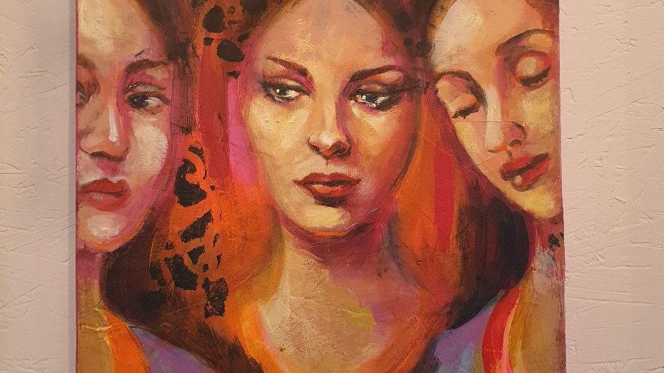 Kunst Maleri / Art Painting Lora Murphy