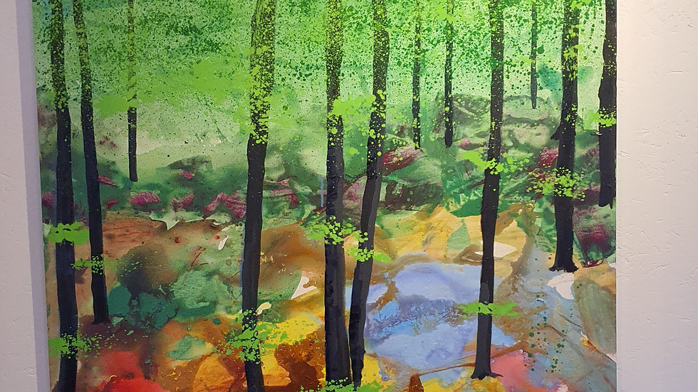 Kunst Maleri Niels Ottesen