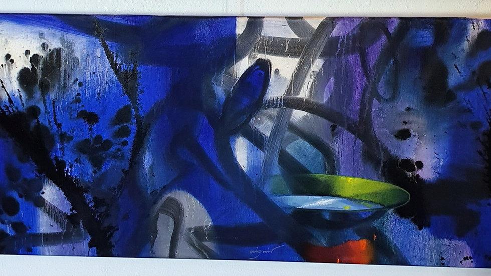 Kunst Maleri / Art Painting Vignir