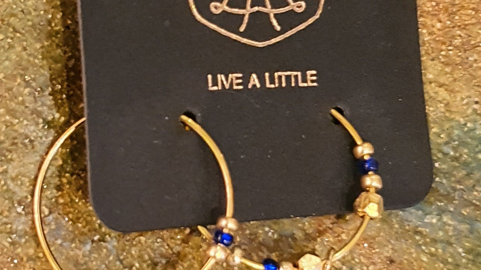 Stil Smykker Øreringe  / Style Jewelry Earrings Live a Little