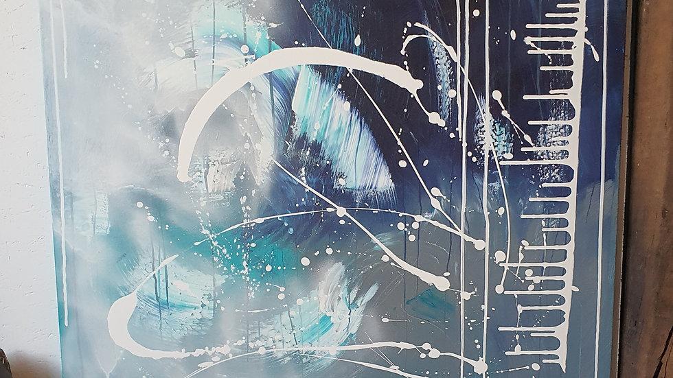 Kunst Maleri / Art Painting  BY AXEL