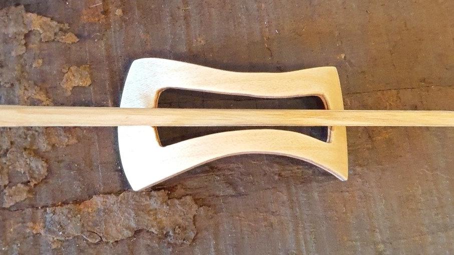 Stil Tilbehør Hårspænde Træ / Style Accessories Hairpin Wood Woodsen