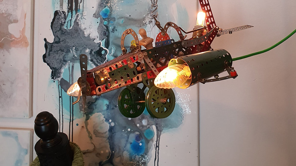 Interiør Lampe / Interior Lamp Boudigaard Maskinfabrik