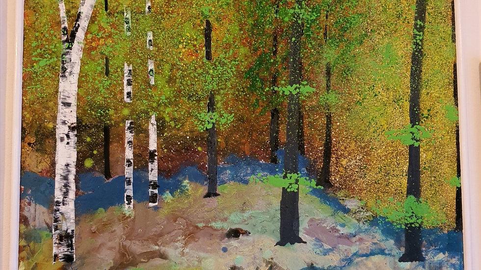 Kunst Maleri / Art Painting Niels Ottesen