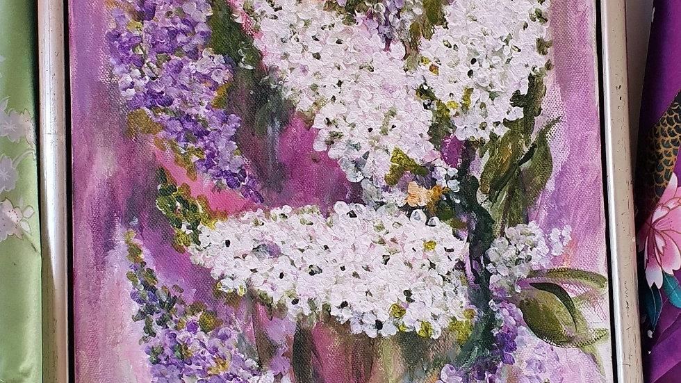 Kunst Maleri / Art Painting -  Frida Freja Kunst