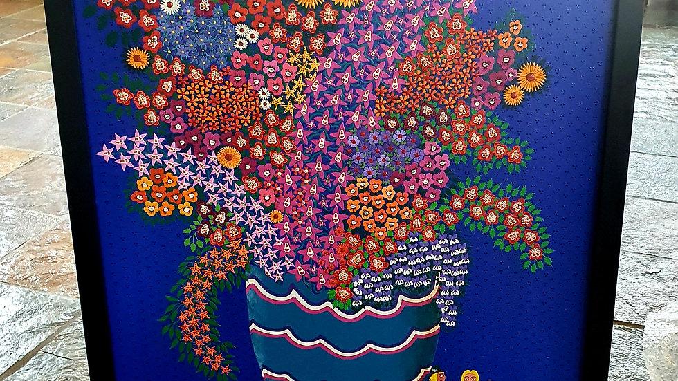 Kunst Maleri  / Art Painting  Marie Harrison-Johnsson