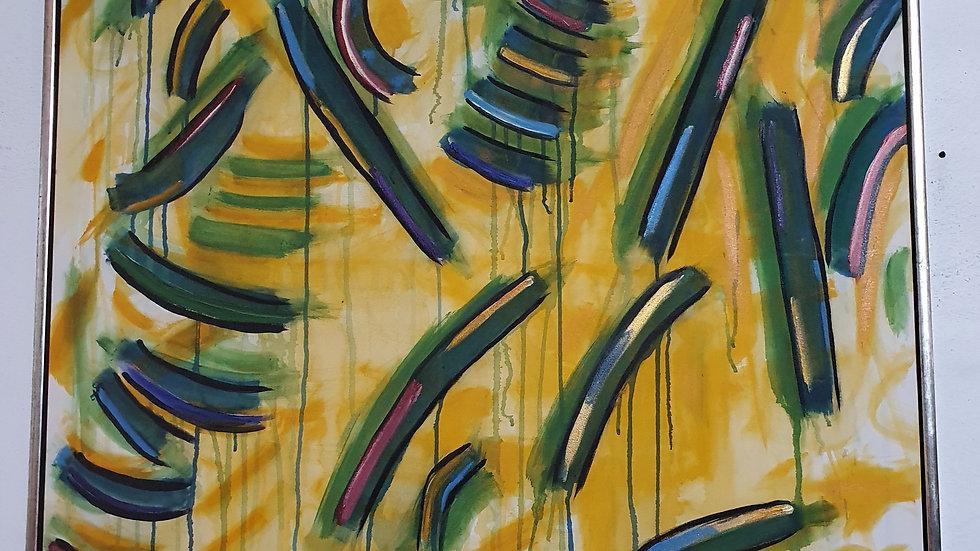 Kunst Maleri  / Art Painting  - Jess