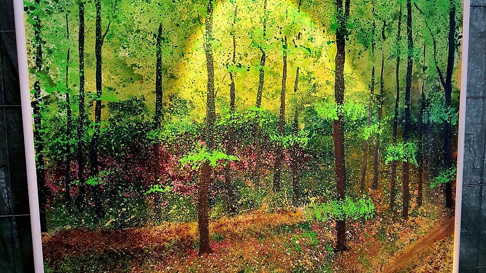 SOLGT! Kunst Maleri / Art Painting  Niels Ottesen