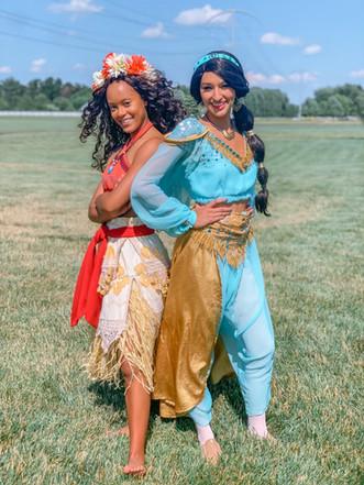 Moana and Jasmine