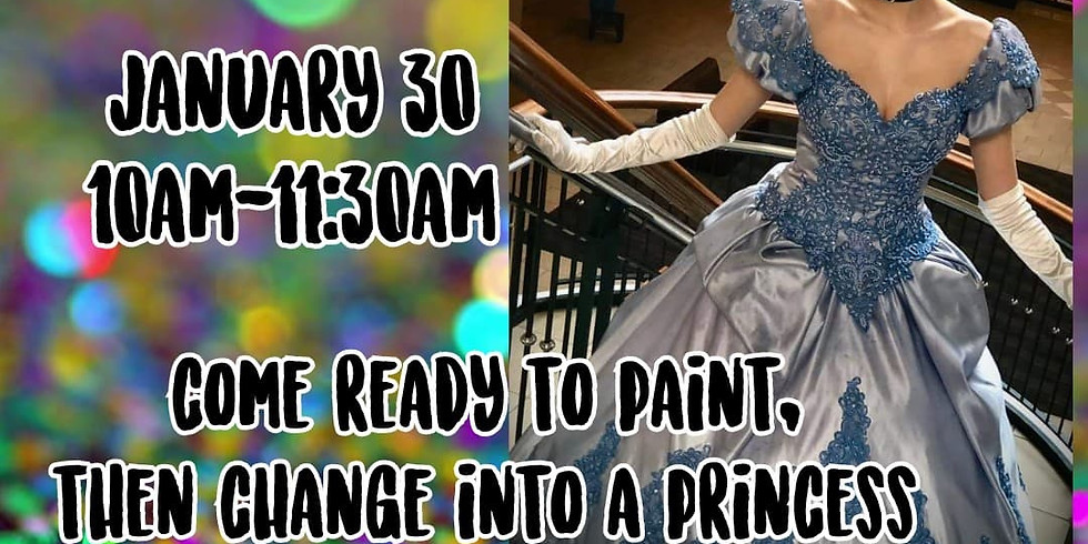 Painting with a Princess