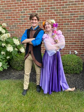 Flynn and Rapunzel