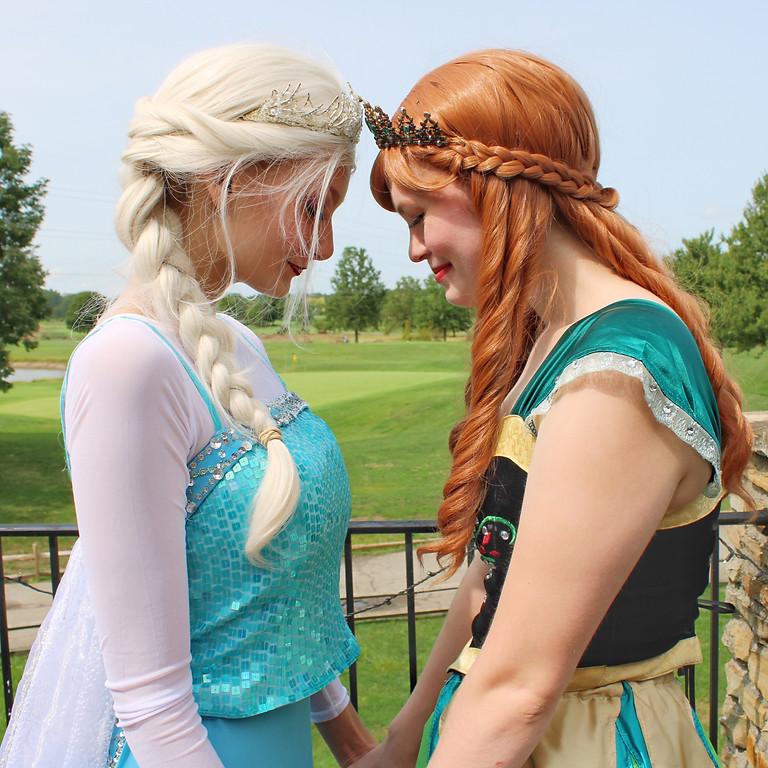 Anna's Frozen  Bridal Shower