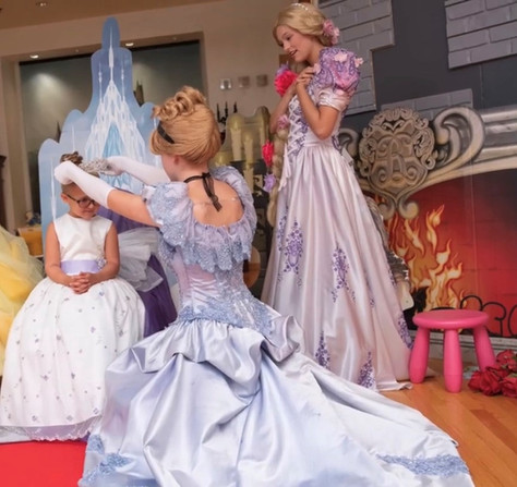 Cinderella and Rapunzel