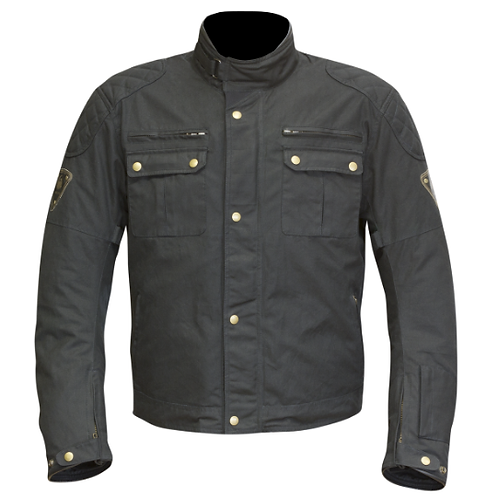 MERLIN SANDON WAX JACKET BLACK