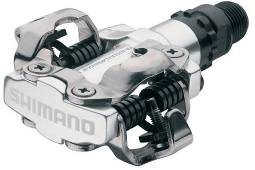 SHIMANO PD-M520 MTB SPD pedals - two sided mechanism