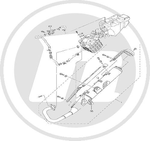 Honley HD1 Exhaust