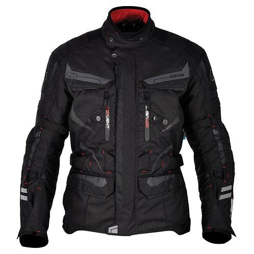 Oxford Torino Long Jacket Tech Black