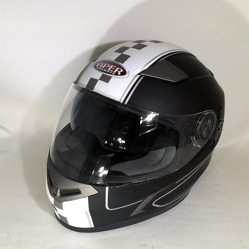 Viper RSV9 Speed / Solid Black/White
