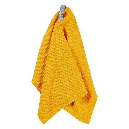 Coralie Tea Towel In Sunflower - Sage & Clare