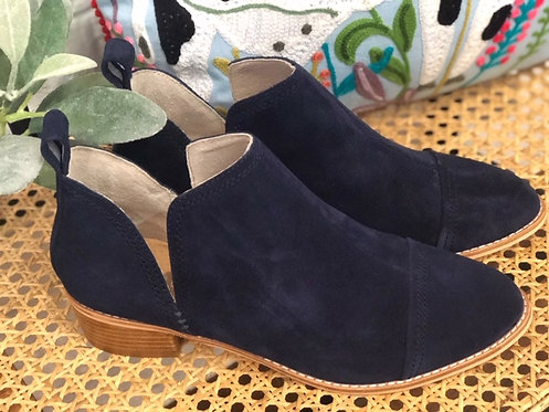 Archie- Navy Suede Boot