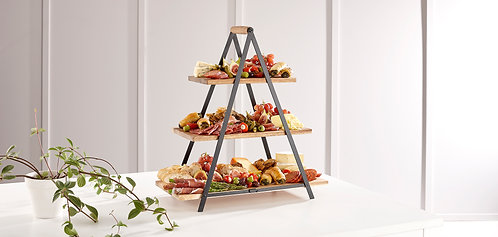 Serve & Share Tower Timber