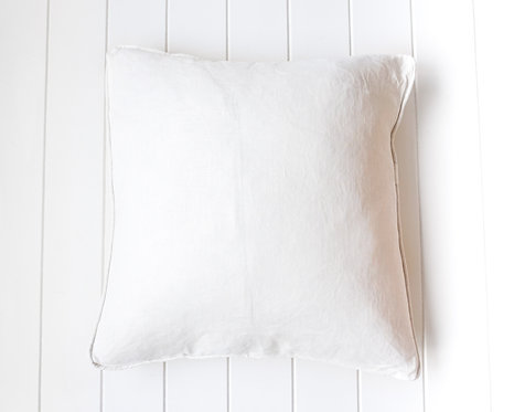 Off White Linen Cushion