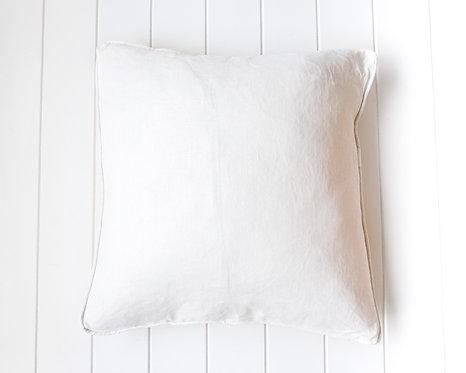 Off White Linen Cushion