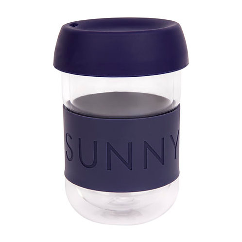 Eco Coffee Cup - Navy Blue