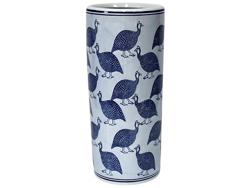 Umbrella Holder Blue Guinea Fowl