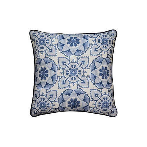 Tile Blue Cushion