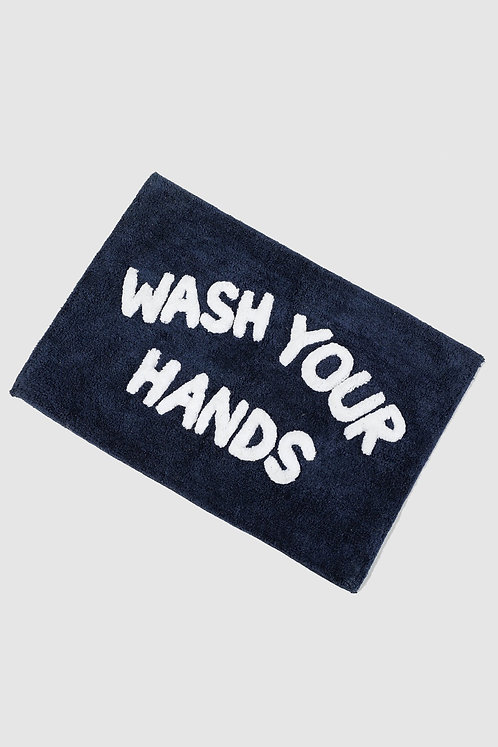 Wash your hands bathmat