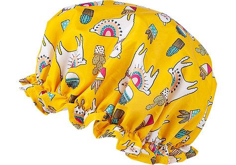 Llama Shower Cap