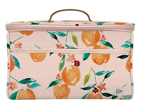 Orange Blossom Midi Cooler Bag
