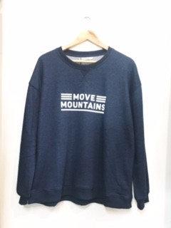 Brave + True Sweatshirt Navy