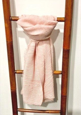 Blush Pink Scarf