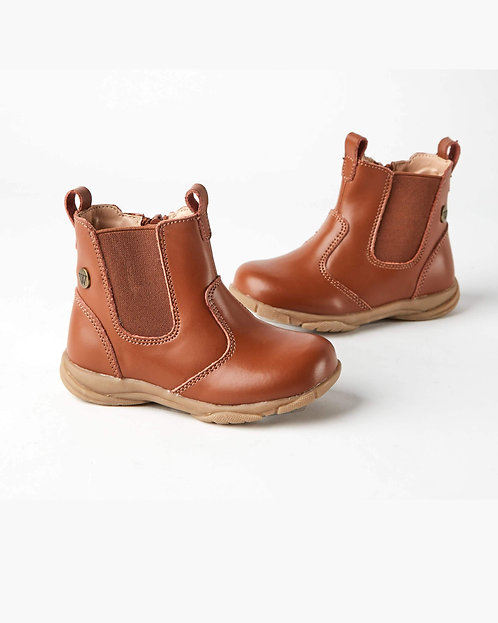 Rodeo Leather Boot Chestnut