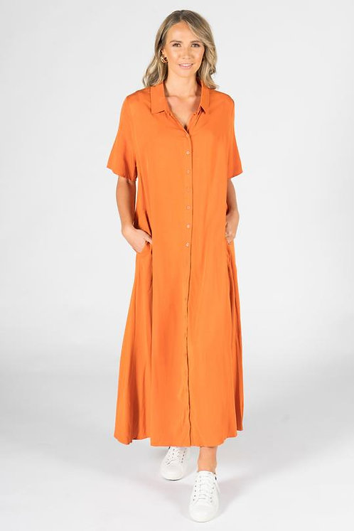 PQ Collection Everyday Maxi Dress In Sunset