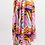 Thumbnail: Twirl Tie Skirt-Tropical Zebra