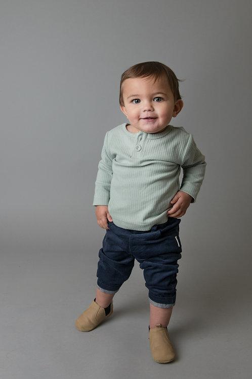 Baby Boys Pant - Navy Corduroy