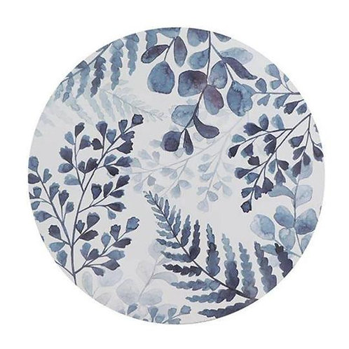 Fernery Round Placemats Set of 4 Madras Link