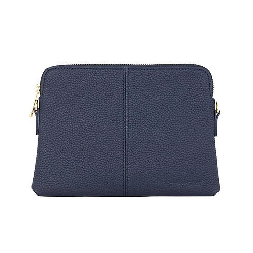 Bowery Wallet In French Navy