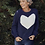 Thumbnail: Heartscape Knit In Midnight Blue