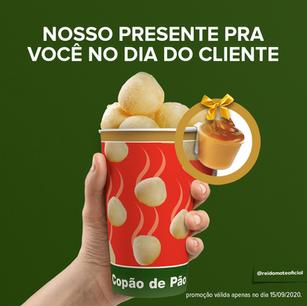 NO DIA DO CLIENTE (15/09) A REDE REI DO MATE TEM UM PRESENTE PARA TODOS OS CLIENTES
