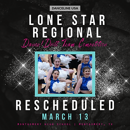 Lone Star Competition Rescheduled