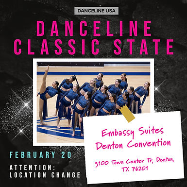 Danceline Classic State - Location Change