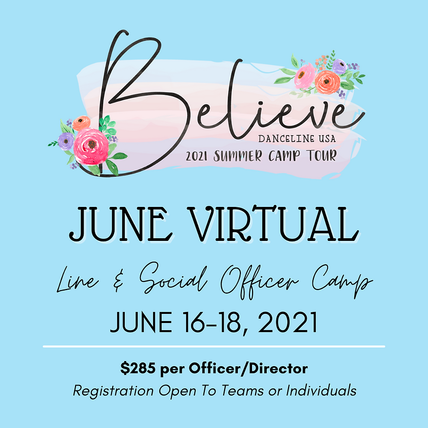 June Officer Virtual Camp