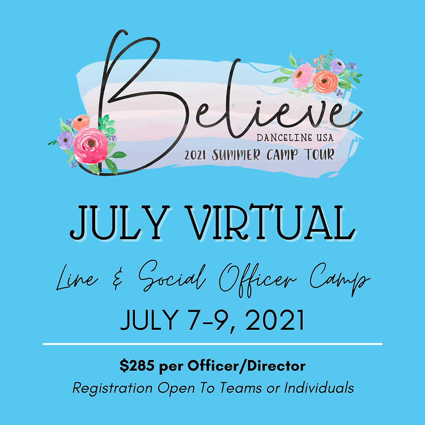 July Officer Virtual Camp