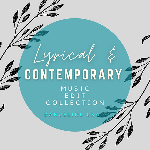 Lyrical & Contemporary Music Edit Collection