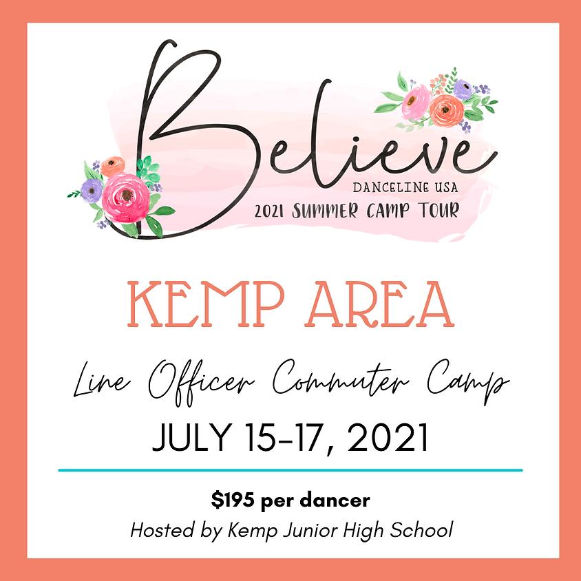 Kemp Area Line Officer Camp